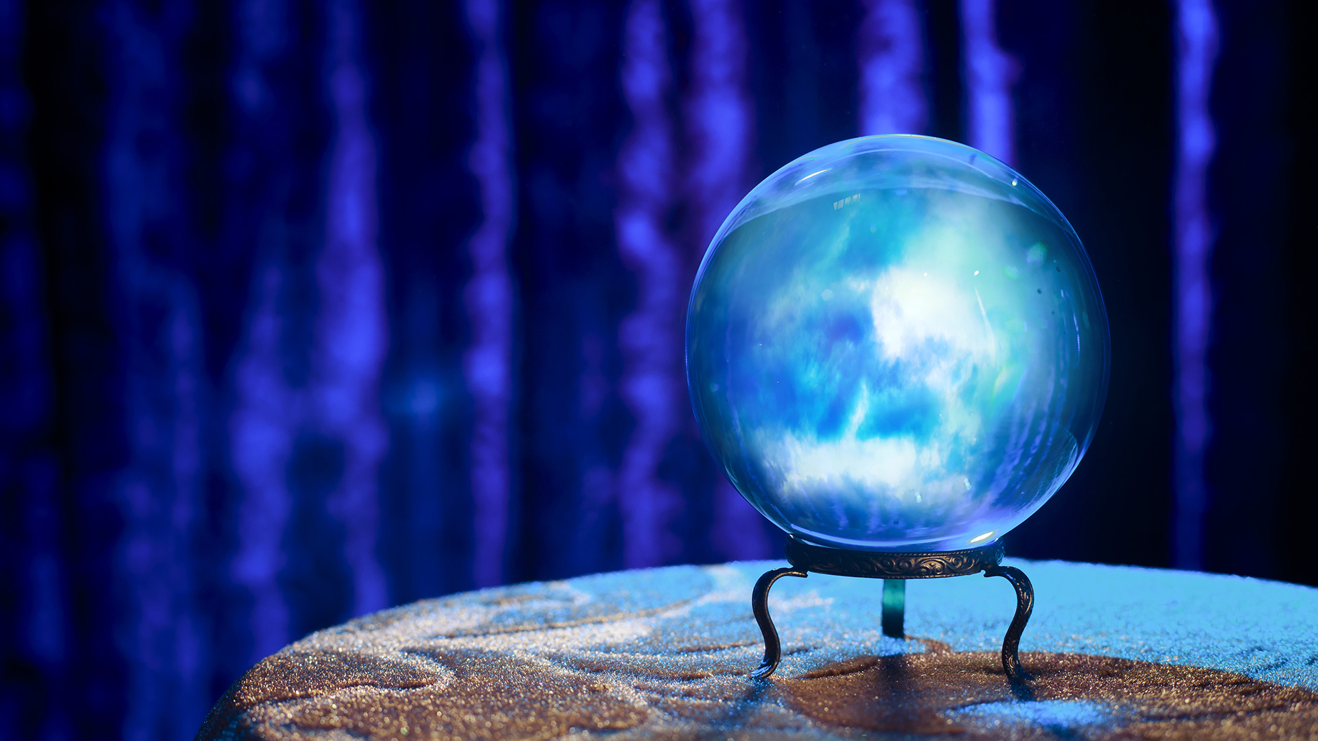 crystal ball representing publishers and agencies receiving future data