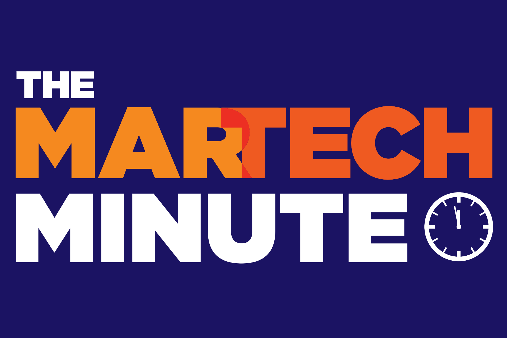 The Martech Minute Upgrades For Demandbase Optimizely Tags Call
