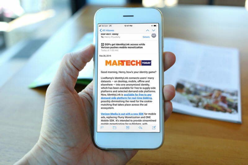 Why we updated MarTech Today's newsletter (and why we think